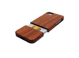 iPhone 8 plus - dřevěný kryt