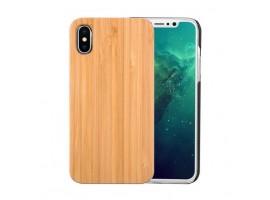 iPhone X - bambusový kryt