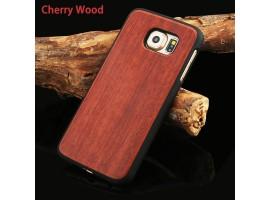 Samsung Galaxy S6 Edge PU - Dřevo