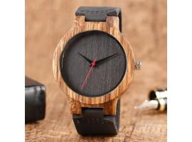 Dřevěné hodinky - Dark wood