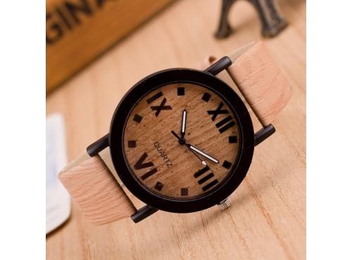 Dřevěné hodinky - Half