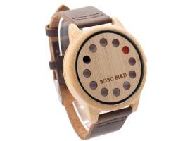 Dřevěné hodinky - BOBO BIRD Ow
