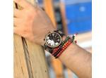 Dřevěné hodinky - BOBO BIRD Zebráno