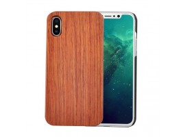iPhone XR - dřevěný kryt