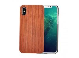 iPhone X - dřevěný kryt